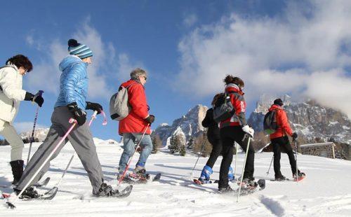 Escursioni invernali con la famiglia