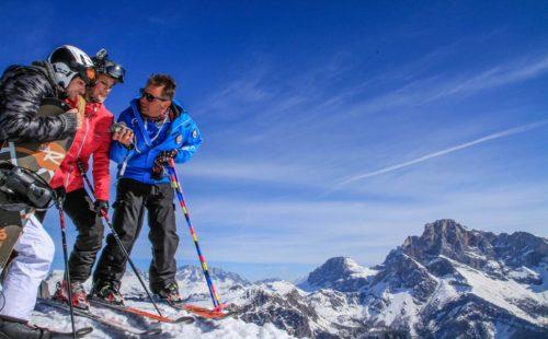 Piste da sci a San Martino