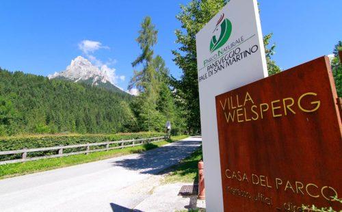 Vill Welsperg nel Parco Naturale