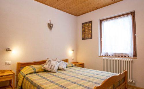 Camera da letto matrimoniale dei nostri alloggi